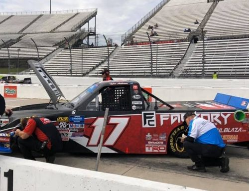 Factory Canopies is at Martinsville Speedway